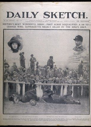 An ACCIDENTAL martyr? The 100-year mystery of why suffragette Emily Davison threw herself under the king's horse.
