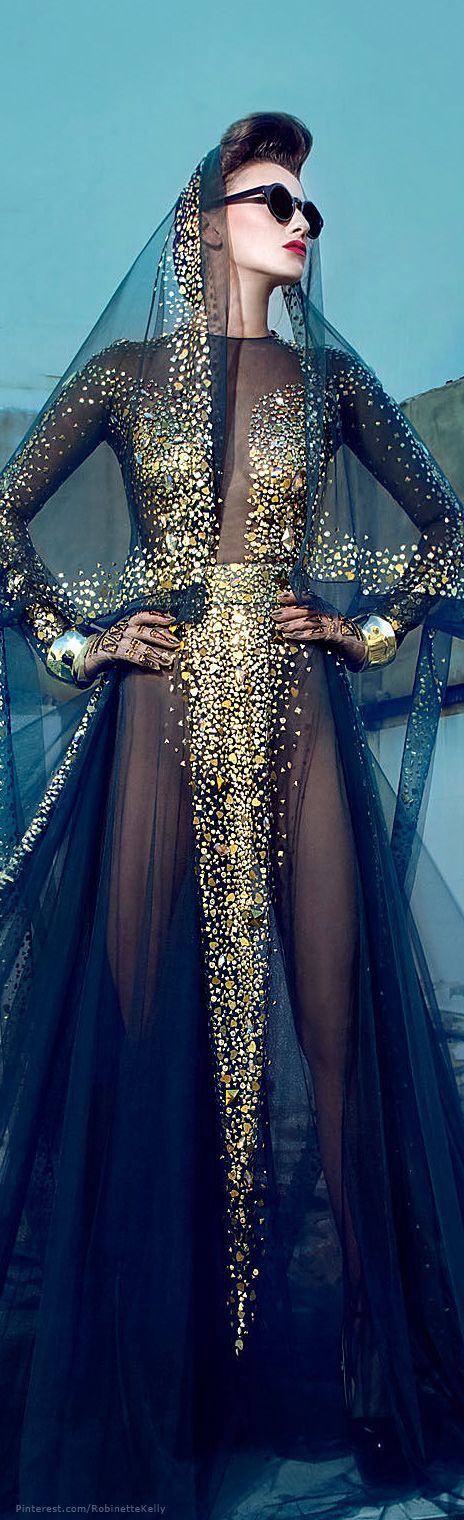 what would happen if I wear this to a party? Just kidding!! Nicolas Jebran | Couture, F/W 2013-14