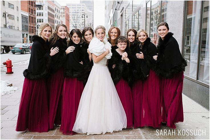 Aloft Hotel, Gem Theatre Detroit Winter Wedding Sarah Kossuch Photography, Michigan Wedding Photographer, Comerica Park, Joe Louis Arena