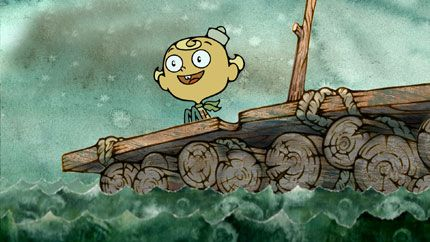 Go get 'em, Flapjack! (The Marvelous Misadventures of Flapjack: 3 seasons, 2008-10)