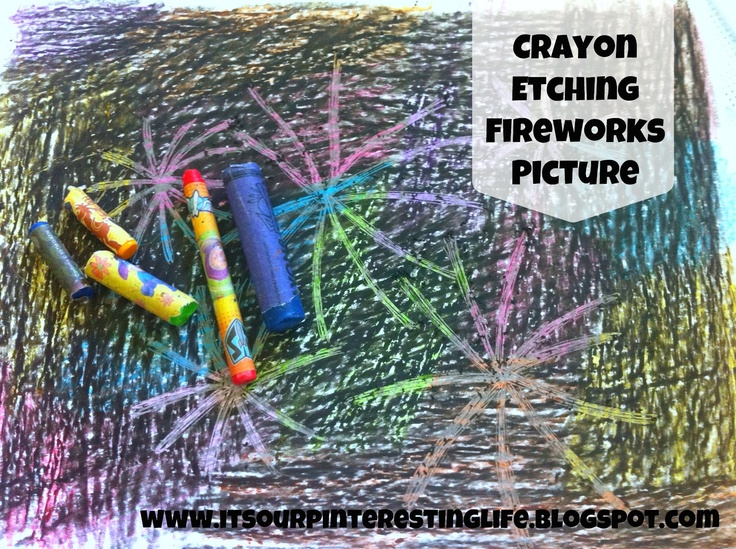 It's Our Pinteresting Life: Canada Day Fireworks Craft