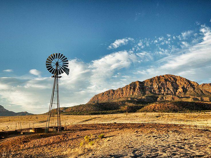Windpump in the Desert