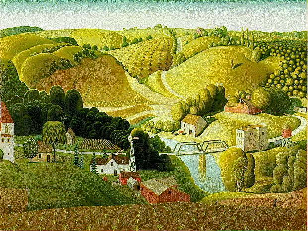 17 best images about grant wood on pinterest