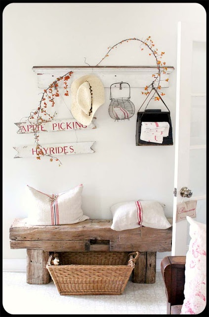 Hall country chic
