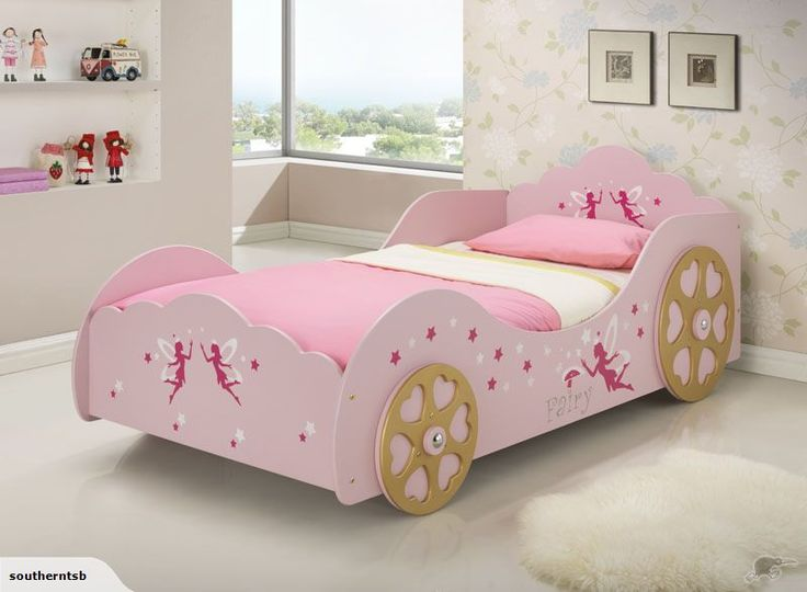 Children Princess Bed Fairy Carriage Pink | Trade Me
