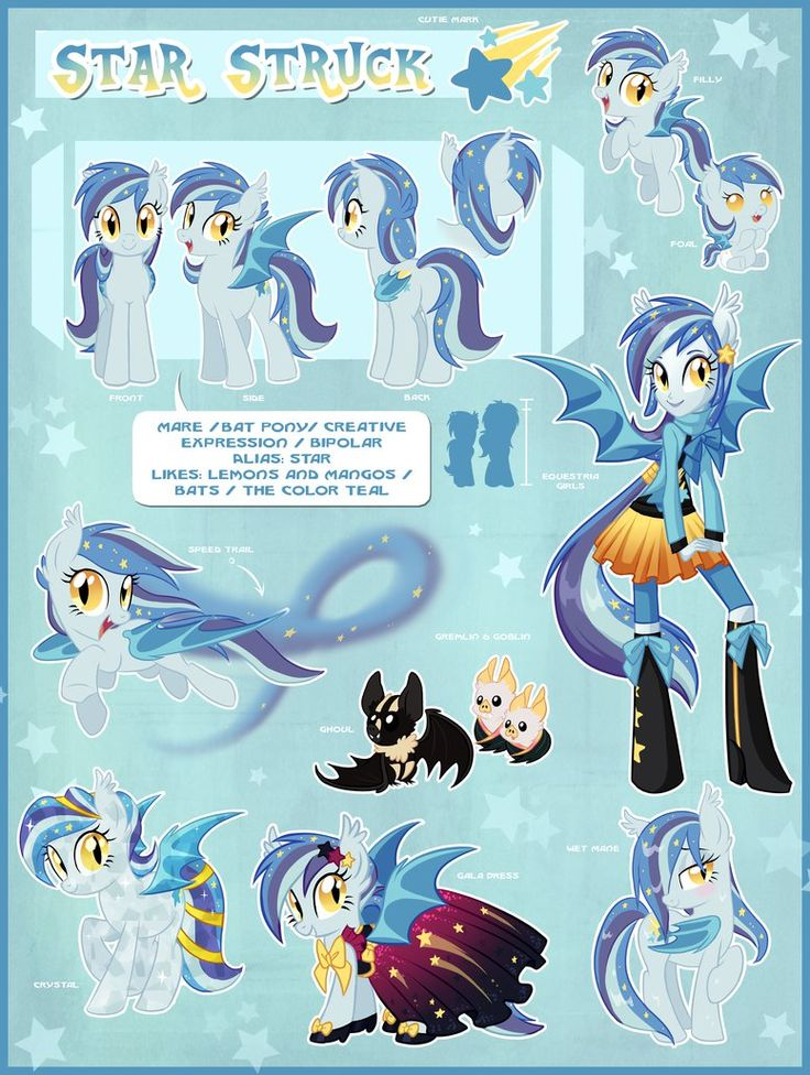 Star Struck Official Reference Guide by Centchi on DeviantArt