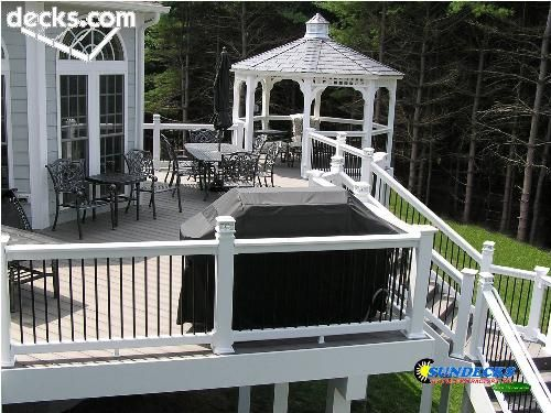 1000 Images About Gazebo Hot Tub Ideas On Pinterest