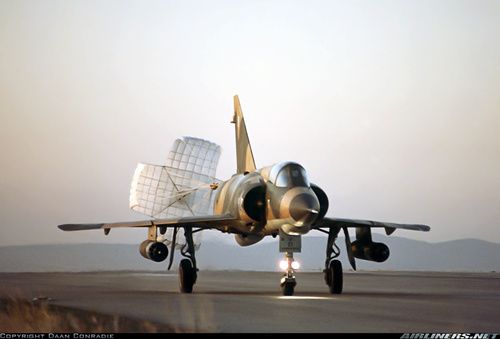 Dassault Mirage IIIEZ of the South African Air Force - SAAF