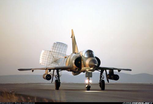Dassault Mirage IIIEZ of the South African Air Force - SAAF