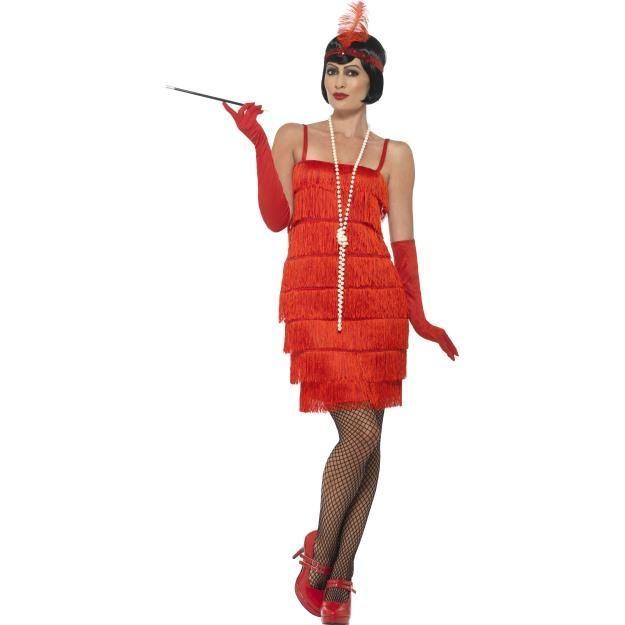 Short Dress Flapper Costume Plus Size