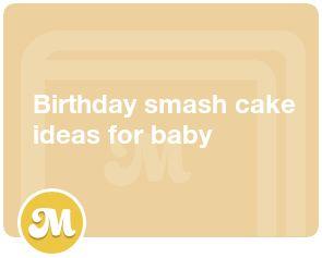 Birthday smash cake ideas for baby