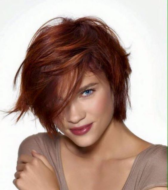 25  Best Ideas about Short Auburn Hair on Pinterest