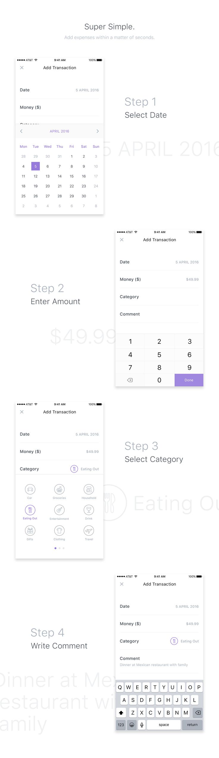 Expensr is a fast and easy way to track and manage your personal expenses on the go.It is completely a conceptual app. I designed this concept to showcase my visual UI design skills. If you like this project, then please do appreciate, comment and share…