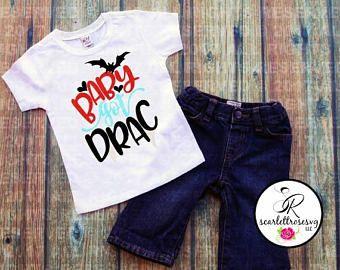 Baby Got Drac, Vampire Shirt, Toddler Tshirt, Baby Halloween Shirt, Monster T-shirt, Halloween Outfit, Baby Drac, Zombie Shirts, Kids Tees