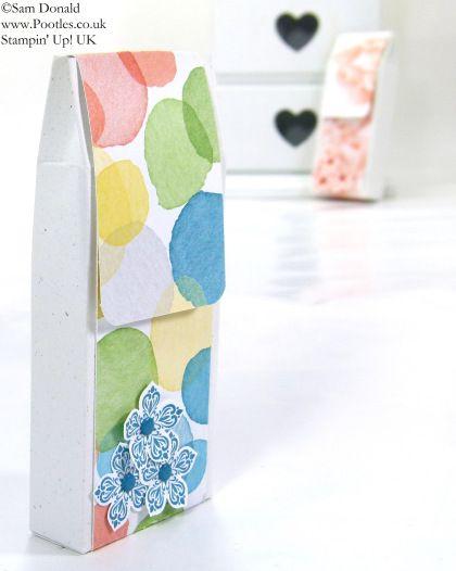 POOTLES Stampin Up UK SPRINGWATCH Fold Over Box Tutorial 3