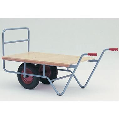 Tube frame and timber platform.  Favoured design with firm loading position. - See more at: https://actionhandling.co.uk/Our-Store/c/trucks/p/balanced-nursery-truck#sthash.8ger3PhK.dpuf