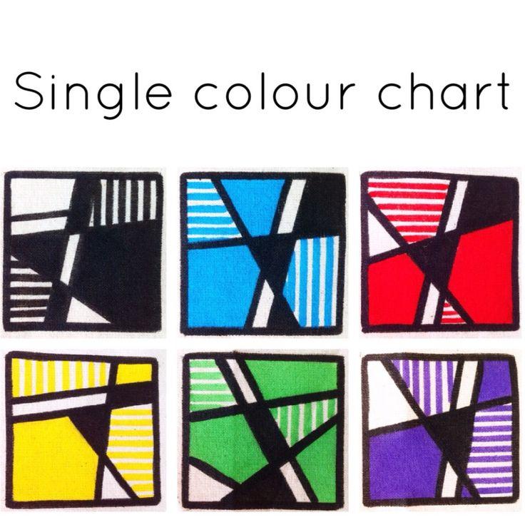 Our colour options