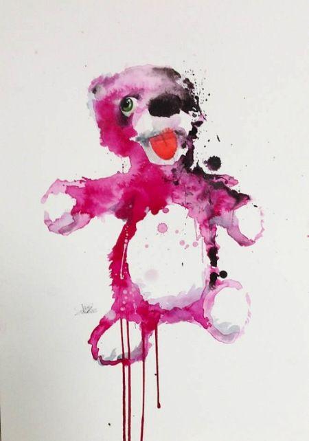 Breaking Bad art - Lora Zombie