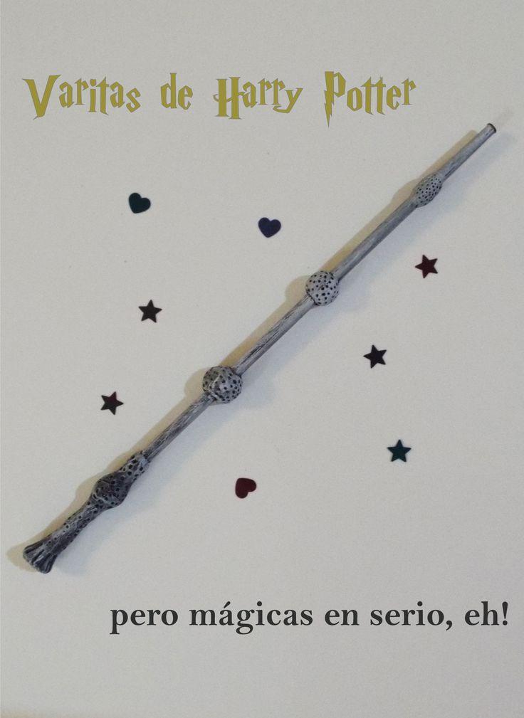 Hacé tus propias varitas de Harry Potter
