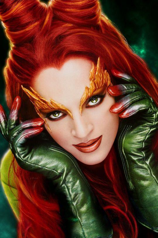 Poison Ivy Kostüm selber machen | Idee zu Karneval, Halloween & Fasching