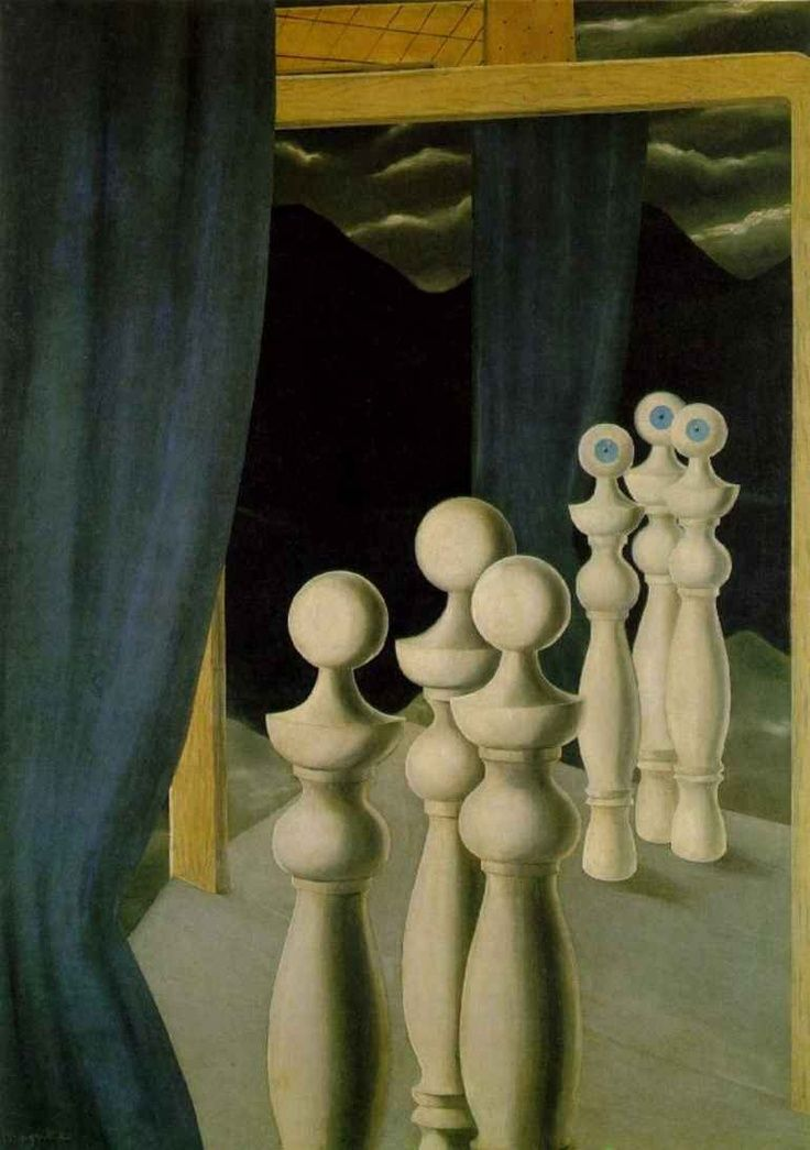 La Rencontre René Magritte (1926) Kunstsammlung Nordrhein-Westfalen - Dusseldorf Painting - oil on canvas