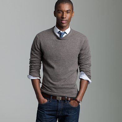 Sweater Vest And Tie With Jeans 63