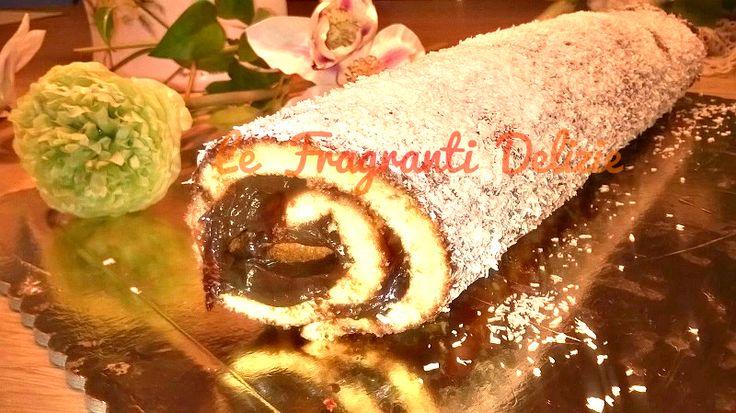 Il Rotolo Dolce alla Nutella e Cocco è la merenda dolce preferita dai bambini. Una golosa base di pasta biscotto preparata con uova zucchero e farina.