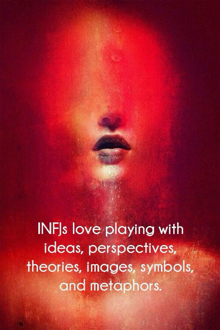 This art-is a perfect representation of what I feel like as an INFJ. My thoughts are always clouding my mind and sight.