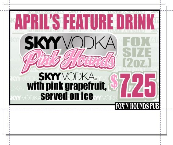 April's drink feature