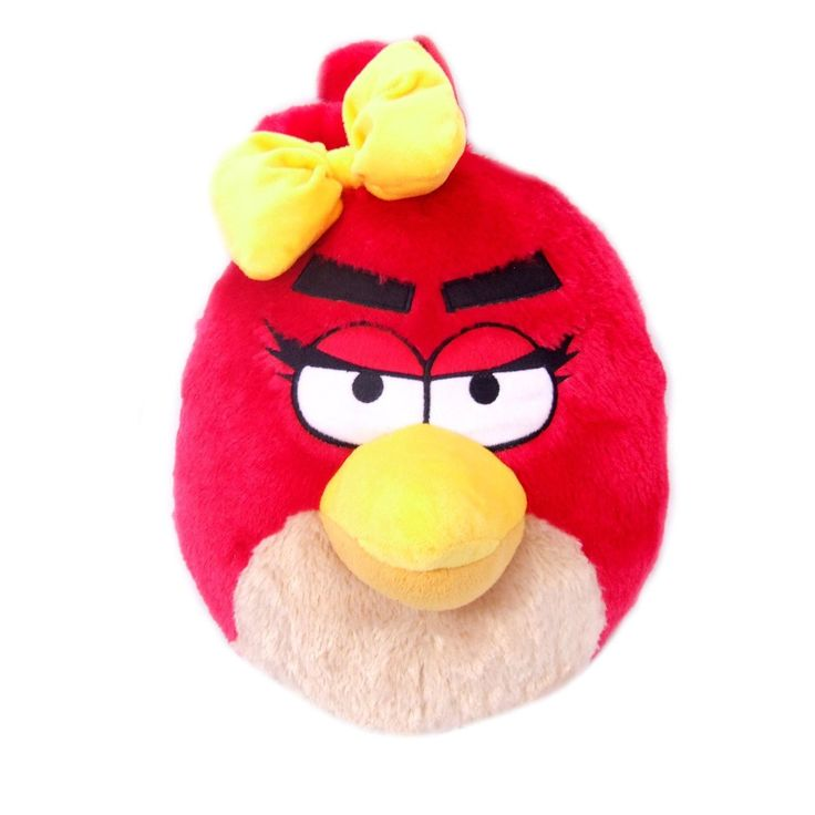 Girl's Red Angry Bird with Bow Plush Backpack - Angry Birds Kids Bag >>> You can get additional details at the image link.