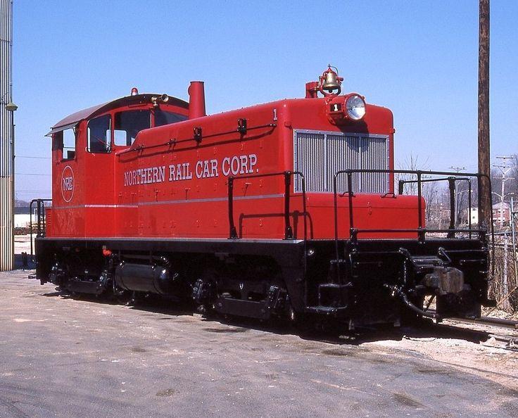 Northern Rail, EMD SW1 diesel-electric switcher locomotive in Cudahy, Wisconsin, USA