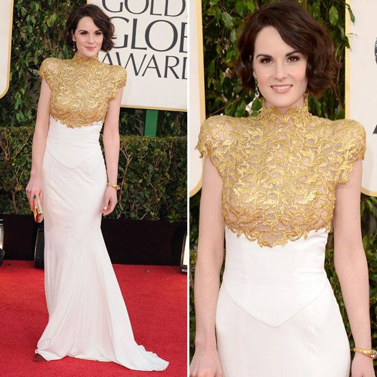 Michelle Dockery in Alexandre Vauthier at the Golden Globe Awards 2013 #RedCarpet #GoldenGlobes
