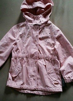 Kaufe meinen Artikel bei #Mamikreisel http://www.mamikreisel.de/kleidung-fur-madchen/outdoorbekleidung-jacken/36925725-name-it-jacke-122-neu-rosa-strasssteine-ubergang