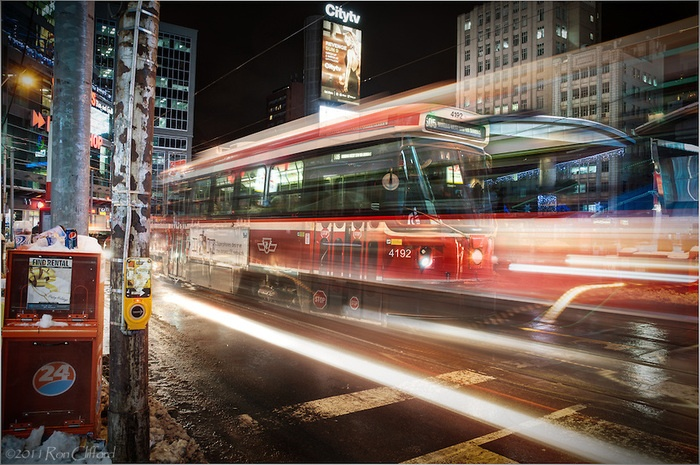 Ride the Rocket  Toronto Streetcar  By Ron Clifford