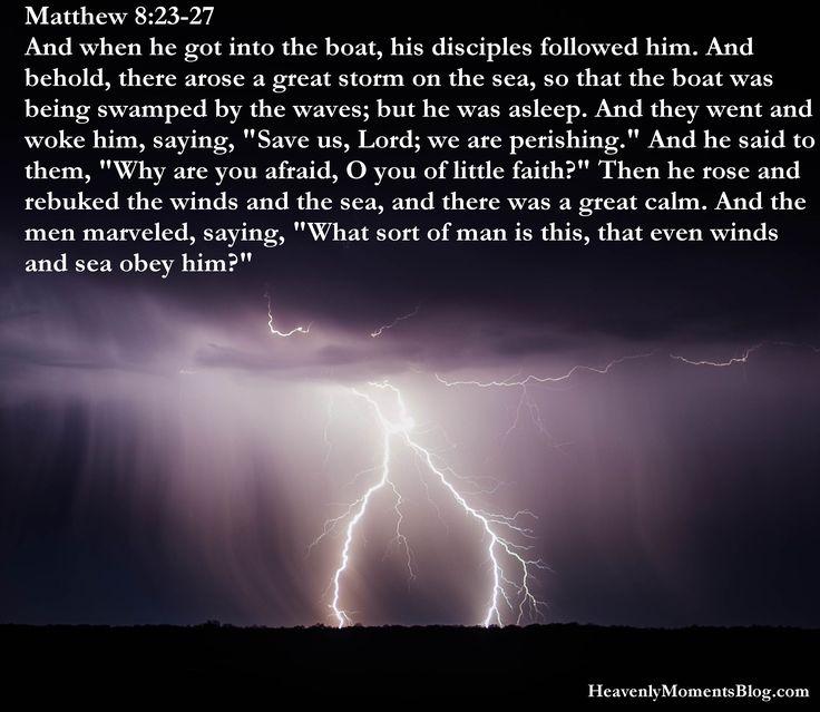 Green Matthew 8:23-27