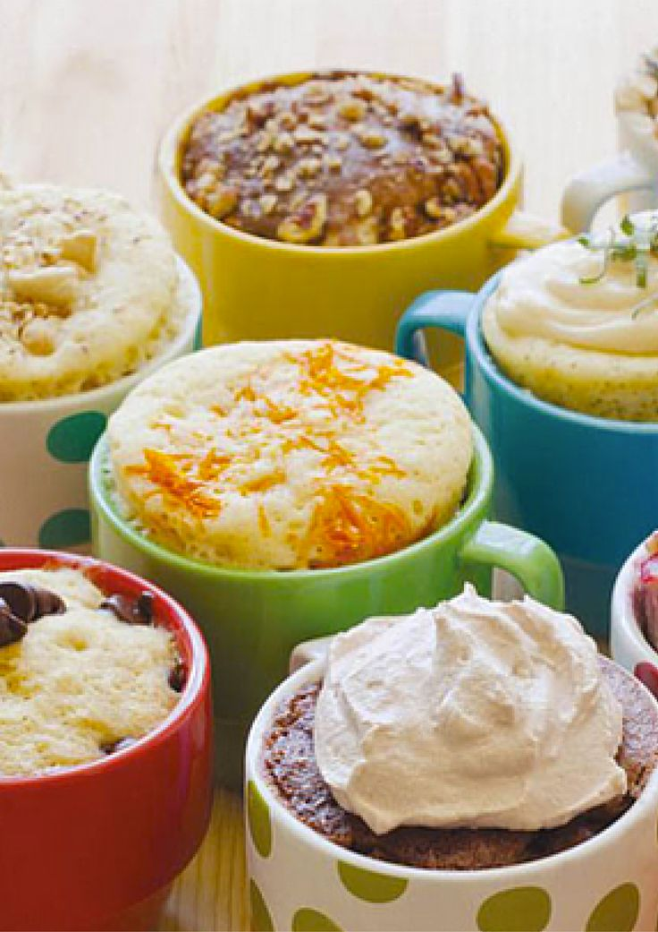 Craving a cake but you are not in the mood to buy one and you definitely don't feel like slaving away in the kitchen? A quick but none the less delicious alternative are mug cakes. literally a cake cooked in a mug. They can be made in less then 10 minutes and are absolutely delicious. Here's 10 of my favorite mug cakes so you to make make a cake in less then 10 minutes. Yum.