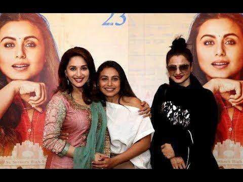 Madhuri Dixit Broke Down At Rani Mukerji's Hichki Screening