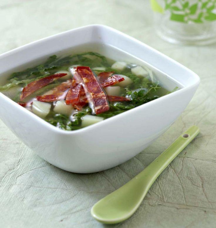Soupe au chou et chorizo (Caldo verde) - les meilleures recettes de cuisine d'Ôdélices