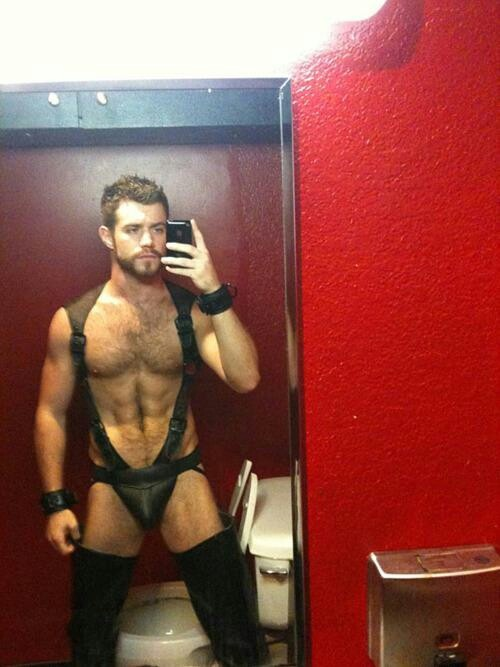 Gay fetish leather gear
