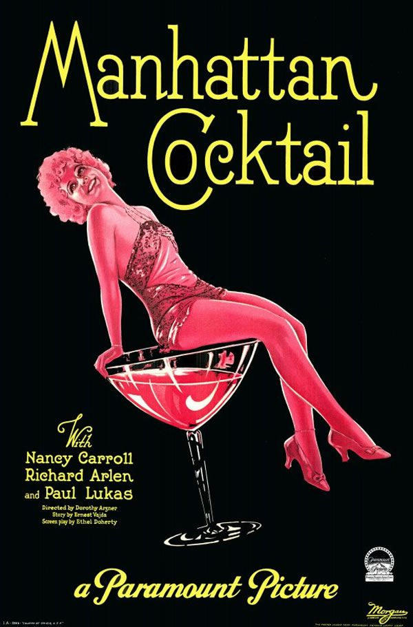 Glamorous Cocktails (#3) :: Art Deco, Hollywood & the 1930s :: the Golden Years » glamour drops