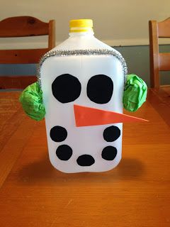 17 best images about milk jugs on pinterest fun crafts for Christmas crafts with milk cartons