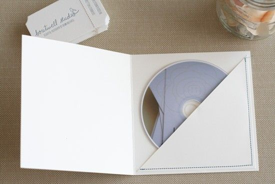 DIY CD folder