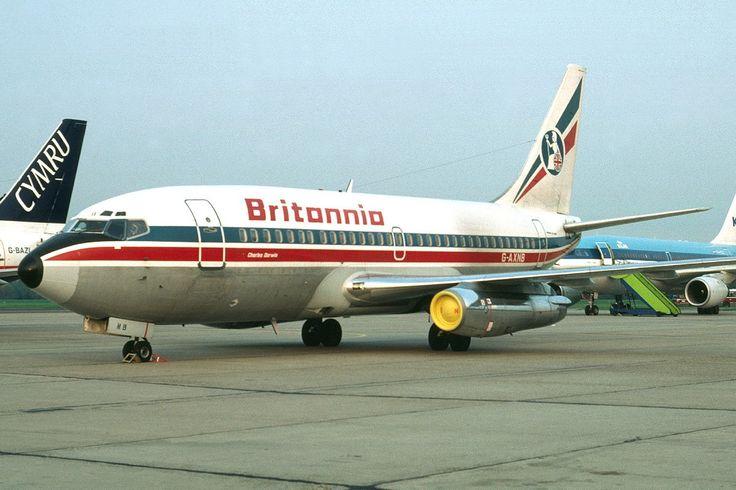 boeing737 Britannia airways