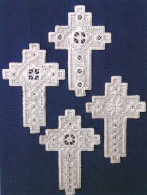 Crosses Set III (Hardanger embroidery)