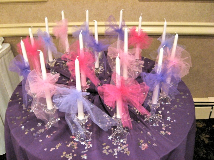 Laura's 16 Candle Display!