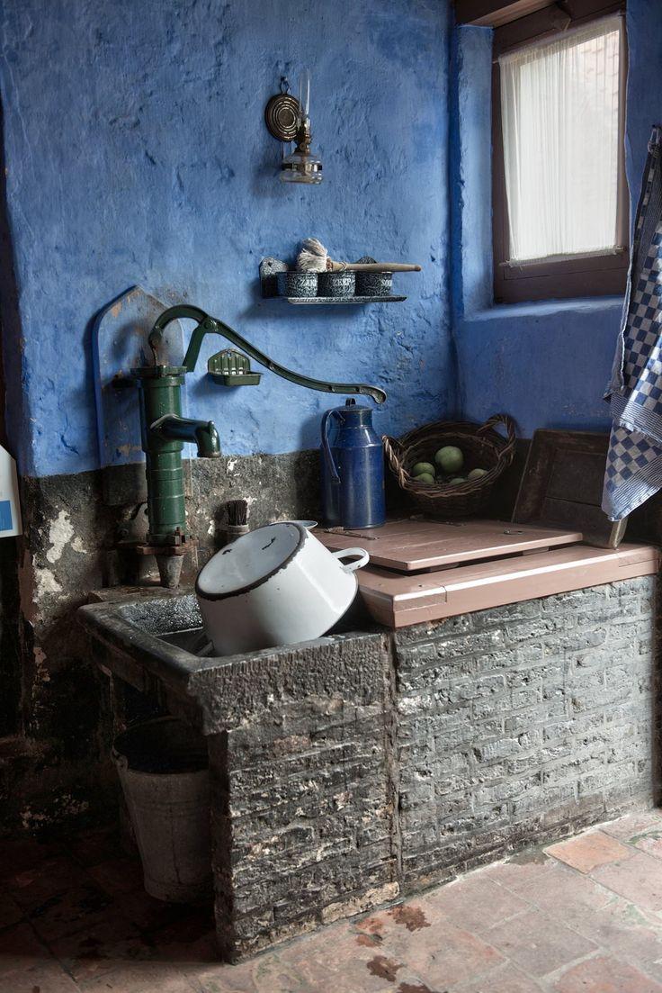 Keuken van vroeger