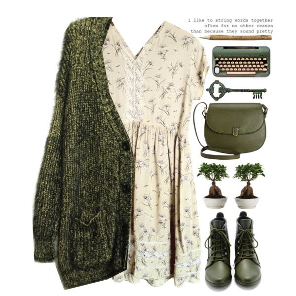 Winter Green by evangeline-lily on Polyvore featuring Mode, Loeffler Randall, Valextra and Pier 1 Imports