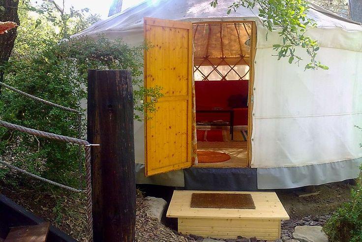 Ecofinca – Yurt holidays in the Spanish pyrenees