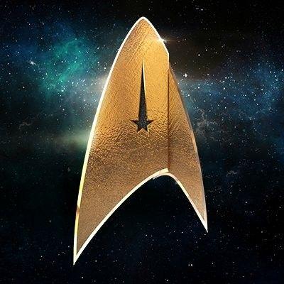Logo for Star Trek Discovery.