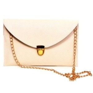HDE Fashion Leather Envelope Clutch with Drop-in Chain Shoulder Strap